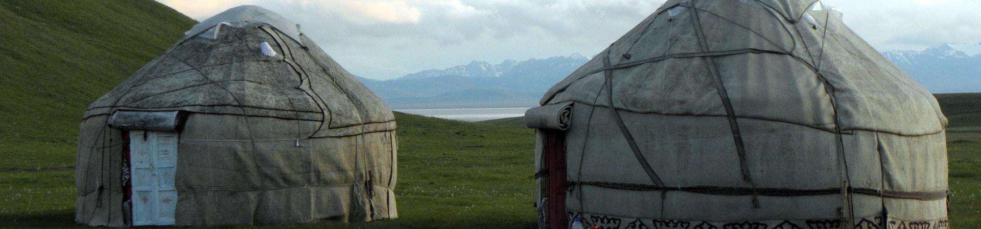 Jurten in Kirgistan