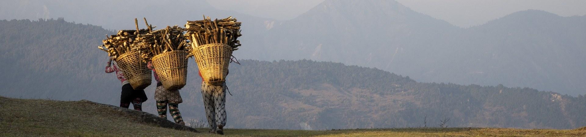 Himalaya im Dunst