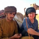 Oman Kameltrekking Rast zur Mittagszeit