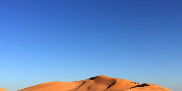 Oman Kameltrekking Rub al-Khali Wüstenwanderung