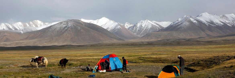 Zeltabenteuer bei Zentralasien Reisen