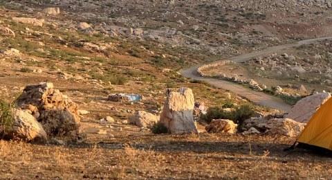 Zelten im Wüstencamps
