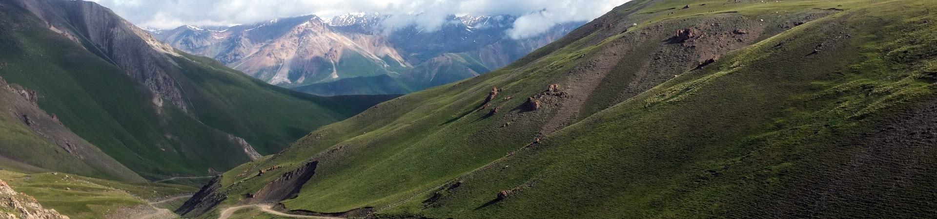grüne Landschaften in Kirgistan entdecken