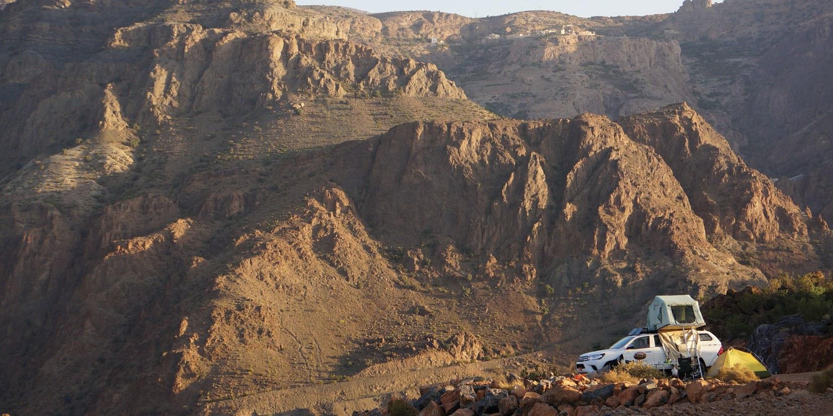 Wildcampen ist im Oman überall erlaubt
